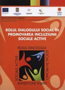 """Brosura """"Rolul Dialogului Social"""""""